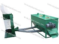 Cooler and dust collection machine