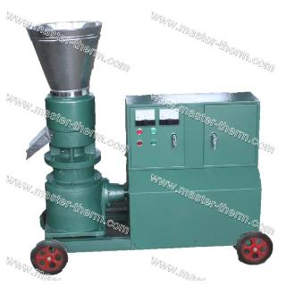 Wood pelletizer with 3phase motor 10hp