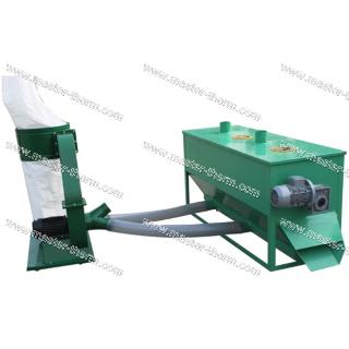 Cooling and Cleaning machine for wood pellets with dust collector 350kgr/h