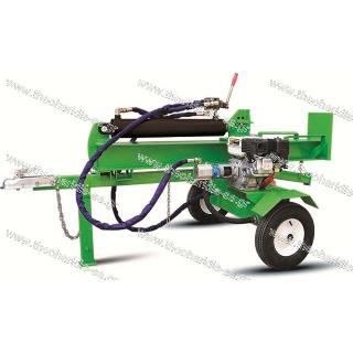 Horizontal-vertical Log Splitter with engine 6,5hp 27tn